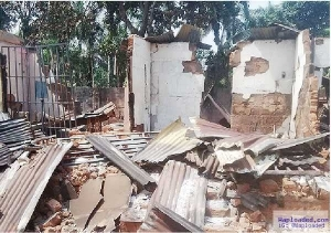 Photo:'Ghosts' Set Shops Ablaze In Anambra Over High Cost Of Goods